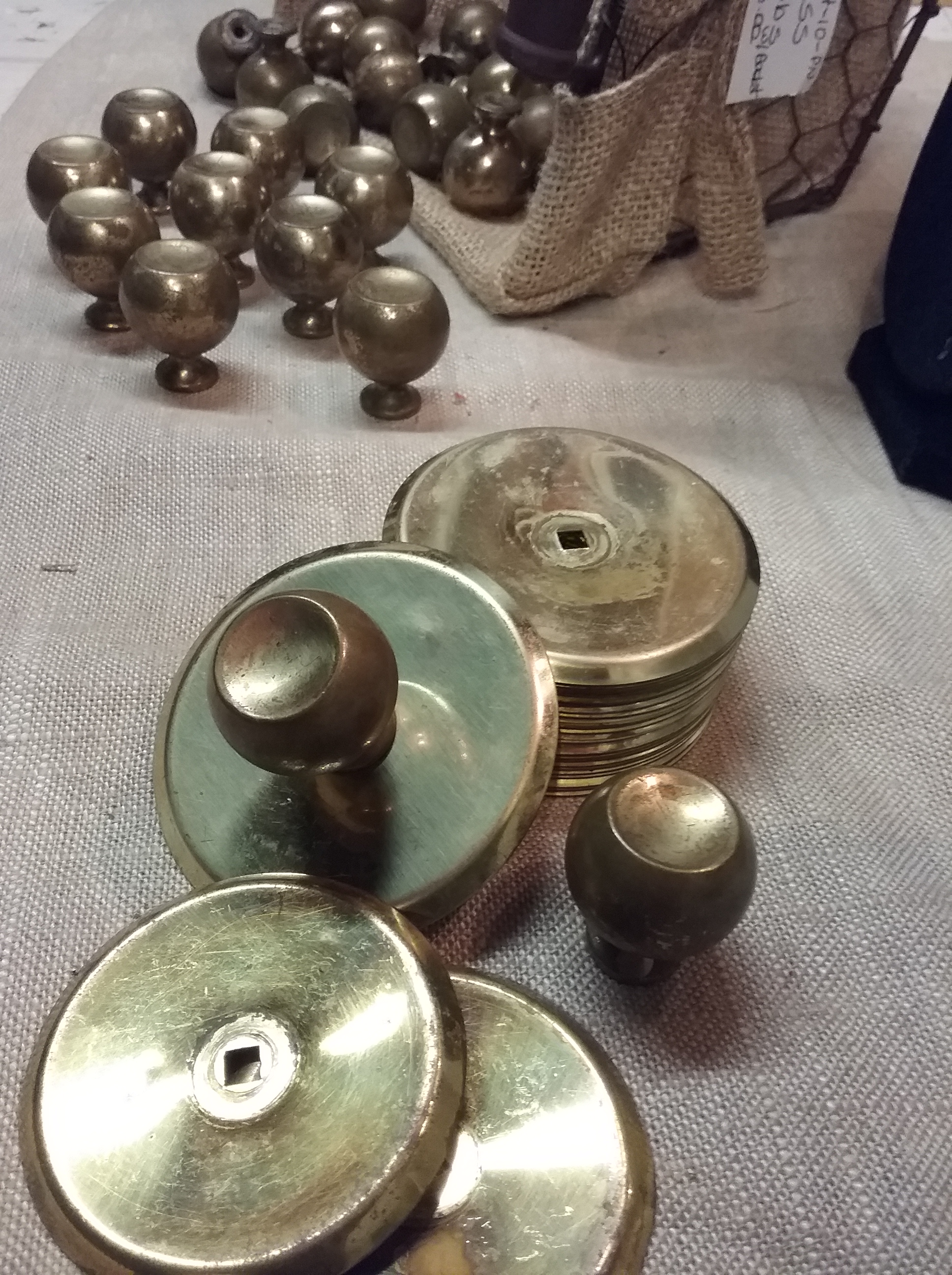 Brass Drawer Pulls - Paulines House and Home